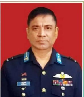 বিমান বাহিনী প্রধানকে পরানো হয়েছে এয়ার মার্শাল র্যাঙ্ক ব্যাজ
