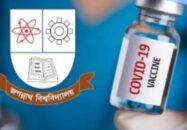 """Vaccinnation starts in JnU from 21st October"""""""